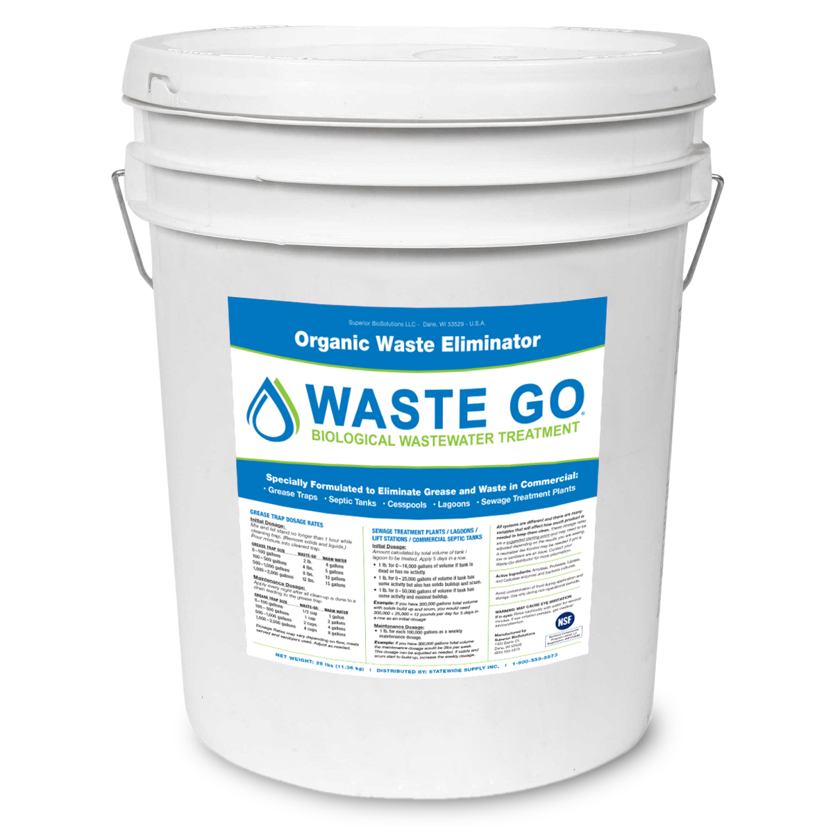 Waste Go Bucket